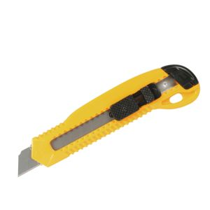 18mm Metal Chamber Safety Lock Utility Cutter Knife pictures & photos