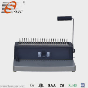 Best Value Manual Office Plastic Comb Binding Machine pictures & photos