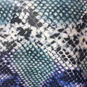 Python Design PU Leather for Bags Totes Wallets pictures & photos