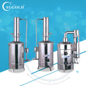 Stainless Steel Electric Double Distilled Water Distiller pictures & photos