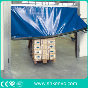 Industrial Automatic Self Repairing PVC Fabric High Speed Fast Rapid Aaction Overhead Rolling or Roller up Shutter Garage Door pictures & photos
