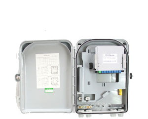 Wallmount Cabinet with 2 Core Fiber Optic Terminal Box/ FTTH Termination Box pictures & photos