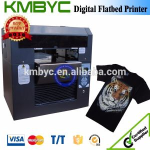 Byc168 A3 Size 6 Colors T Shirt Printer Small Portable Flatbed Printer pictures & photos