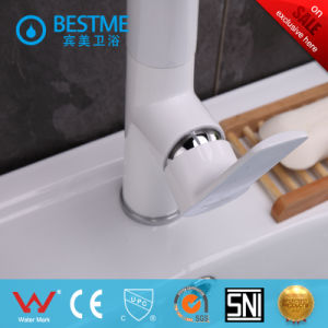Unique Design White Color Kitchen Faucet (BM-20015W) pictures & photos