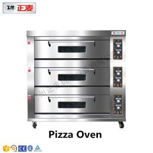 3 Doors and 9 Trays Electric Stainless Steel Door Deck Oven (ZBB-309D) pictures & photos