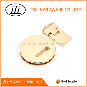 Wholesale Handbag Metal Accessory Light Gold Flip Lock pictures & photos