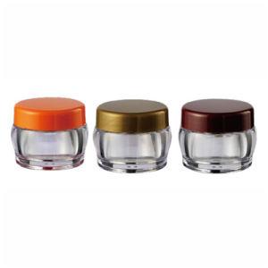 Screw Cap Plastic Jar 25ml Plastic Cosmetic Packaging Cream Jar (NJ85) pictures & photos