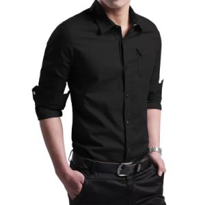 High Quality Men Dress Button Down Shirts Online pictures & photos