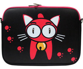 Popular Carton Cat Competitive Neoprene 15′′ Laptop Cover pictures & photos