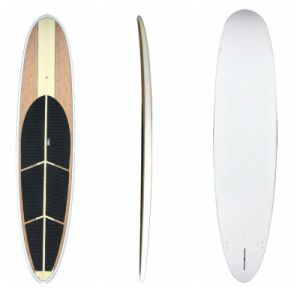 Customized Bamboo Veneer Surface Stand up Paddle Board, Yoga Sup Surfboard pictures & photos