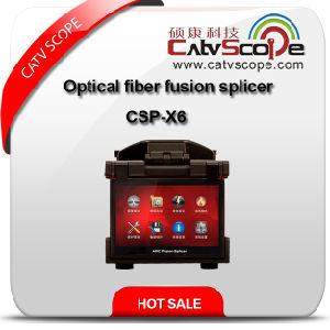 High Performance Optical Fiber Fusion Splicer Csp-X6 pictures & photos