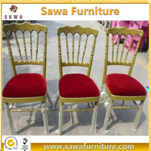 2017 Wholesale Strong Gold Folding Aluminum Napoleon Chairs for Sale pictures & photos