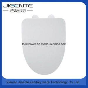 Elongated Toilet Seat Cover V Shape Slow Down pictures & photos