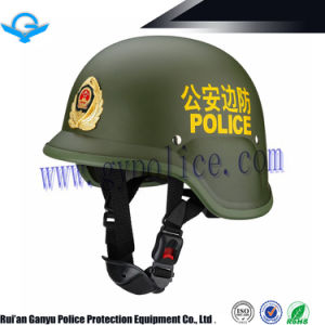 China German Style Police Duty Helmet Wholesale/Supplier pictures & photos