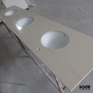 Artificial Stone Bathroom Countertop and Vanity Top pictures & photos