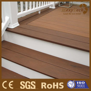 2017 New Type Anti UV Co Extrusion WPC Decking Easy Install Wood Plastic Composite Decking pictures & photos
