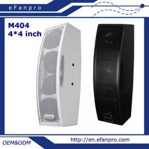 Full Frequency 4 * 4 Inch Conference Professional Speaker (M404) pictures & photos