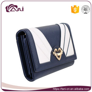Bowknot Design Women PU Leather Card Holder Wallet pictures & photos
