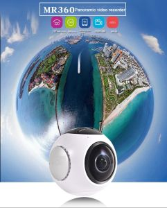 New Arrival 360 Degree Camera Vr Camera for Panoramic Video/Picture