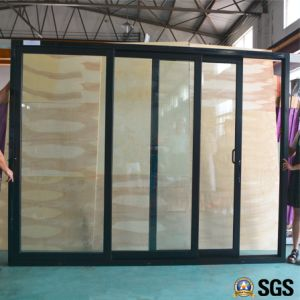 3 Track Aluminium Frame Sliding Door, Window, Aluminium Window, Aluminum Window, Glass Door K01189 pictures & photos