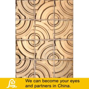 Ceramic Hand Made Art Golden Ceramic Mosaic (G02) pictures & photos
