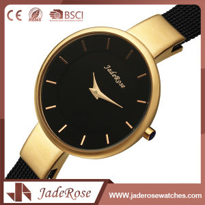 Fashion Alloy Quartz Stainless Steel Back Watch with Unisex pictures & photos