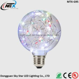 Decoration Colorful Fancy Light G95 G125 LED RGB Flash Bulb pictures & photos
