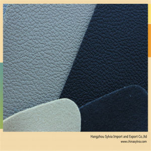 PU Synthetic Leather for Car Seat pictures & photos