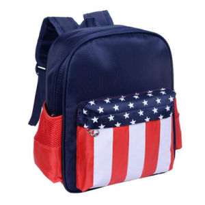 2017 New Science Fiction American Captain Pattern Backpack / Canvas Bag (GB#024) pictures & photos