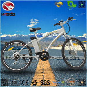 Wholesale Good Quality Electric Mountain Bike with Hydraulic Suspension pictures & photos