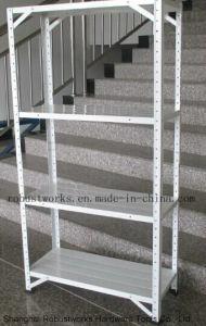 4 Shelf Storage Unit Adjustable Metal Shelf (7030F-50) pictures & photos