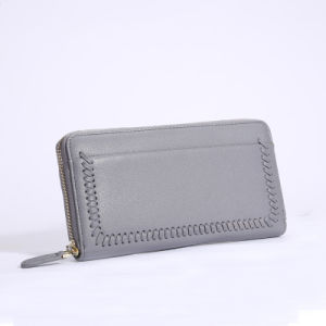 Fashion Lady Wallet Coin Purse Genuine Leather Clutch Travel Wallet pictures & photos