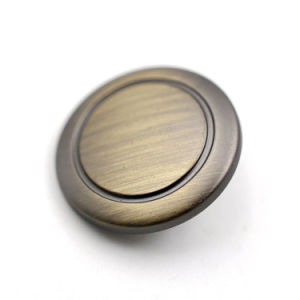 Brushed Bronze Plastic Shank Button for Coat pictures & photos