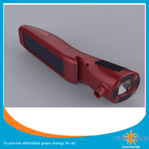 Red LED Solar Flashlight Torch pictures & photos