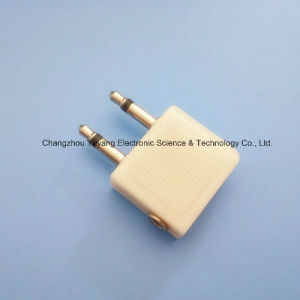 Splitter Widely Use Audio Adaptor 2X3.5mm Plug to 3.5mm Jacks pictures & photos