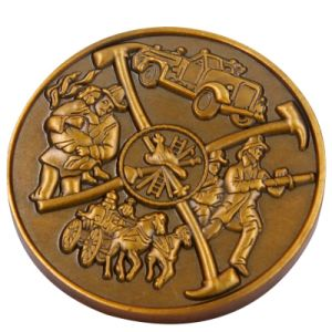 Custom Metal Coin with Soft Enamel for Souvenir pictures & photos