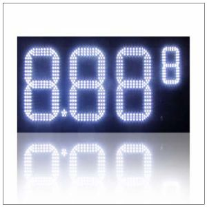 "LED Gas Station Pricing Sign (outdoor double-face 14"") pictures & photos"
