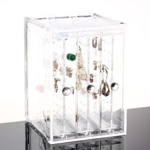 Acrylic Earring Display Stand Organiser Holder Jewelry Display pictures & photos
