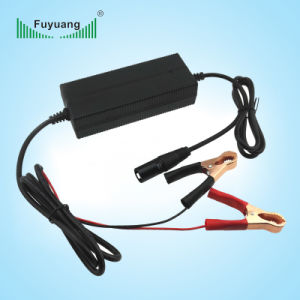 DC to DC 54.6V 2A Li-ion Battery Car Charger with Cable pictures & photos