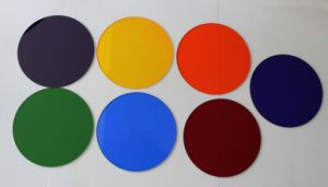 Optical Glass Interference Filter for Scientific Experiments pictures & photos