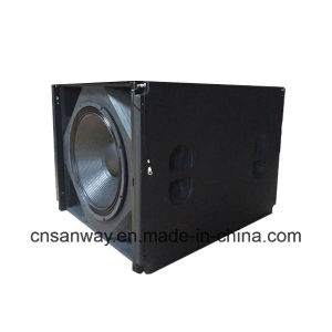 "PRO Audio Vrea S33 18"" and 15"" Dual Drivers Subwoofer Speaker pictures & photos"