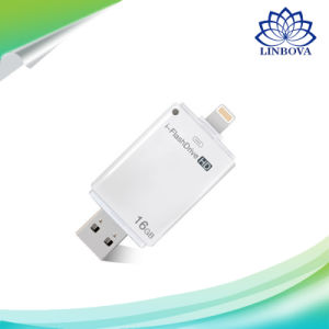 3 in 1 USB Flash Drive USB Micro SD SDHC TF Card Reader for iPhone pictures & photos