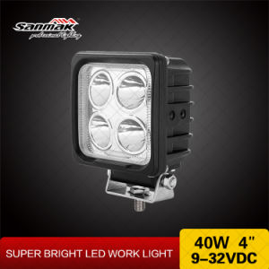 High Power Spot 4 Inch 10W CREE LED Work Light pictures & photos