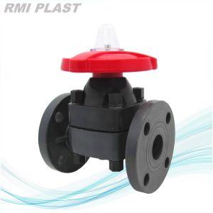 CPVC Plastic Diaphragm Valve by Flange ANSI Cl150 pictures & photos
