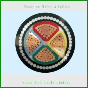 Steel Wire Armored XLPE Cable PVC Electric Wire Cable pictures & photos