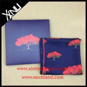 Long Printed High Fashion Designer Silk Scarf pictures & photos
