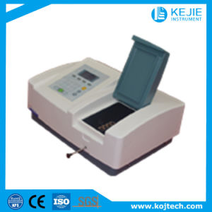 Liquid Crystal Display/Automatic Wavelength Calibration UV Spectrophotometer pictures & photos