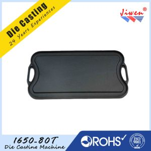 Customized Aluminum Die Casting Skillet with Teflon Coating pictures & photos