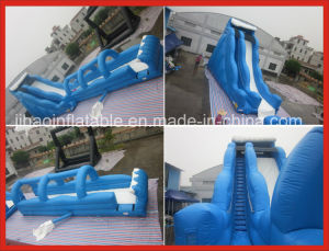 Popular Super Long Inflatable Water Slip N Slide in Summer pictures & photos