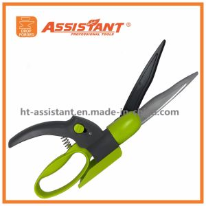 Garden Scissors and Trimmer 360 Degree Swivel Grass Shears pictures & photos